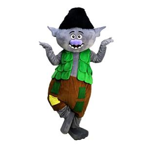 Direction Trolls costume de mascotte personnage de dessin animé Taille adulte de haute qualité Longteng (TM) 03444