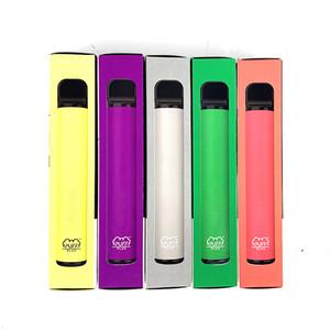 2020 Retail Puff Bar PUFF Plus Vape Pen Portable Disposable Vape starter Kit 3.2ml Pod for Smoking oil Cartridges 550mAh Battery