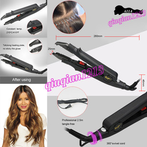 Professional Hair Extensions Connectors Constant Temperature Fusion Iron Heat Wand Connector Salon Use Equipment Hairdressing Styling Tools