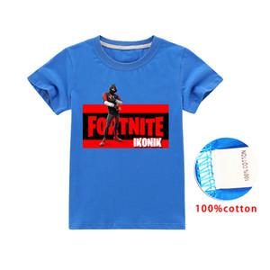 Fortnite fortnite children's cotton short-sleeved T-shirt boys and girls short-sleeved T-shirt Baby Kids Tops Baby Kids Clothing