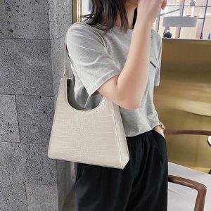 Elegante Frauen PU-Leder-Schulter-Beutel beiläufige Reißverschluss Achsel Sling Handtaschen Jugend Damen Small Square Bag