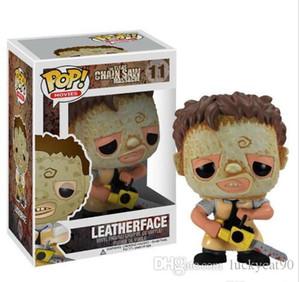 Funko pop Leatherface # 11 Chainsaw Massacre Texas Films d'horreur Figurine avec boîte d'origine Grande Qualité