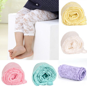 Baby Girl Kids Cotton Knitted Tights Pantyhose Princess Lace Stockings Pants Trousers
