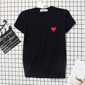 COM play Quality Men Women Gery CommeS des GARCONS total handle mens off T-shirt White Size M prompt decision famous brand designer t shirts