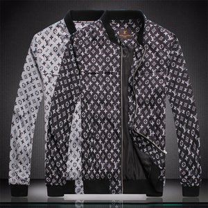 Fall 2020 designer fashion men's jacket hair stylist hip hop style long sleeve zipper letter printed jacket outdoor sports 3 colors M-4XL