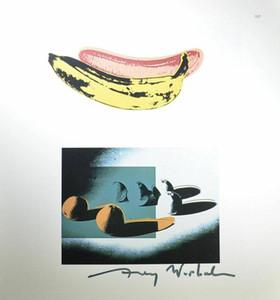 Andy Warhol plátano espacio de frutas naranjas Decoración Artesanías / impresión de HD pintura al óleo sobre lienzo arte de la pared de la lona representa 200630
