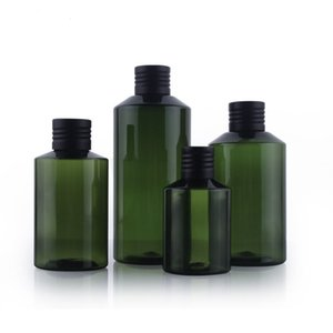Leere Flasche HAUSTIER Plastik 50ml 100ml 150ml 200ml Flasche Plastik Leere Flaschen Kappen Ätherische Öle Parfümflaschen Großhandel frei