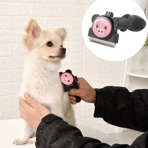 Kendi Kendini Temizleyen Kavisli Tarak Blade, Sağlam ve ergonomik Saplı Köpek Kedi ile Pet Deshedding Aracı Seçeneği için üç Boyutu Malzemeleri