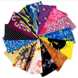 Hip Hop Skull Bandanas magic headscarf riding mask Tube Neck Face Headscarves Sport magic Headband Pick Skull Print Bandana GD299