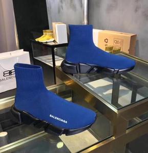 botas New Mulheres Moda Homens estiramento sapatos Meias alta qualidade Confortável respirar livremente sapatilhas Mulher botas curtas TSS11282