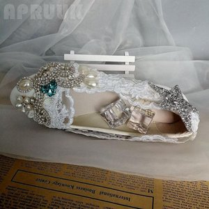 silver blue crystal rhinestones bridal wedding flats shoes woman star bling shinny crystal bridesmaid party bride shoe