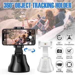 All-in-one Smart Auto Tir selfie bâton 360 degrés suivi du visage Rotation automatique Caméra Object Tracking Téléphone Portable Holder