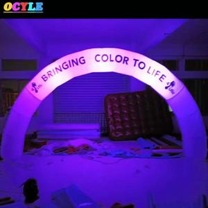 OCYLE تخصيص 6 أمتار LED نفخ قوس ، والإضاءة الزخرفية نفخ بداية القوس ، أدى نفخ قوس اللعب