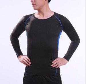 лучшие мужчины быстрое высыхание спорт плотный с длинным рукавом мужская футбол тренировочная база рубашка работает йога костюм дышащий фитнес костюм футбол обучение