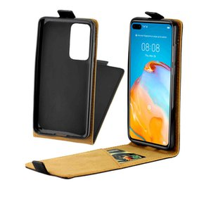 Business Leather Case For Huawei P40 P40 Pro Vertical Flip Cover Card Slot For Huawei P40 Lite Nova 6 SE Nova 7i