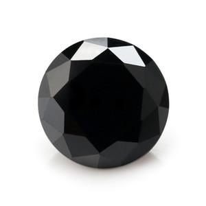 gros 30 pcs 6,5 mm ronde Zircon Cut Loose en vrac brillant pierres précieuses luxe élégant bricolage Art 15 couleurs Livraison gratuite