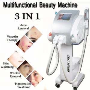 3 in 1 beauty machines ipl laser hair removal machine opt ipl hair removal nd yag laser tattoo removal machine
