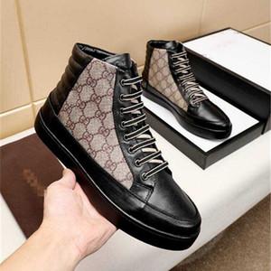 2020 Men Women Platform Casual Shoe Designer Shoe Fashion men Shoes Men's Leather Lace Up Chaussures Oversized Sole Sneakers White