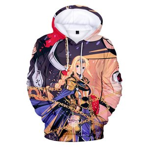 3D pulôver do capuz Homens Mulheres Fashion Design Hoodies 3D Sword Art Online Alicization Anime camisola Harajuku Hoodie Men