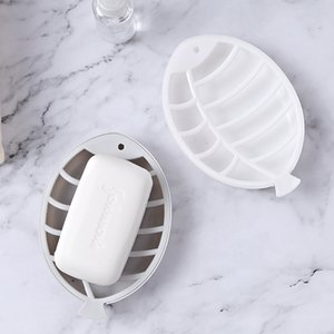 Portable Creative Fish-Shaped Soap Box Plastic Container Dish Storage Plates Soap Saver Travel Tray Holder Case Bathroom Gadgets