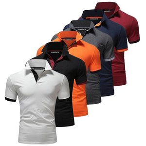 Summer Fashion Anti-fricção de Homens de manga curta camisa Polo Vestuário exterior Golfe T-shirt camisas do golfe dos homens PXG GPS