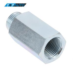 Freeshipping Sensor de Oxigênio Em Aço Inoxidável O2 Lambda Sensor Extensor Spacer para Decat Hidrogênio M18