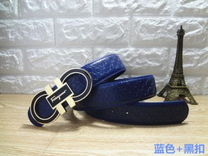 2019 luxury belt fashion brand belt men's and women's brand designer belts gold buckles party jeans free shipping + With box