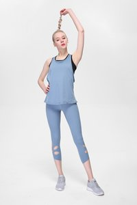 OMKAGI Leggings Pocket Yoga Pants Pantalon Gym Set Push-Up Fitness-entraînement sexy taille haute Sport
