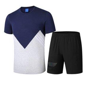 2020 New Arrive Men's Tracksuits Fashion Mens Active Two Pieces Suits Mens Casual Designer Sport Suit High Quality Size M-3XL