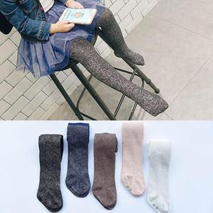 Kızlar Külotlu çorap Bebek Pantyhose Kızlar Tayt Dans çorap Glisten kız bebek Çocuk Çorapları bebek tayt kızlar kıyafet giysi