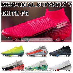 GIFT BAG para hombre de los tops de fútbol Botas Future Lab CR7 Mercurial Superfly VII 360 Elite FG Calzado de fútbol Neymar Superfly 7 Tacos de fútbol
