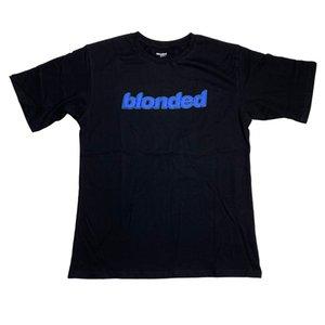 Été Hommes Designer T-shirts Marque de mode FRANK OCEAN Blonded Femmes Tee High Street à manches courtes Chemises habillées