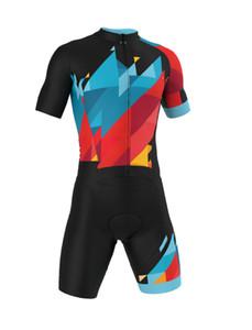 Ciclismo Skinsuit Triathlon Speedsuit Trisuit Tutto in una manica corta Speedsuit Abbigliamento