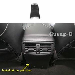 Carro Decore traseiro Upside Ar Condicionado Tomada Etiqueta Parts respiradouro para X-Trail xtrail T32 / Vampira 2014 2015 2016