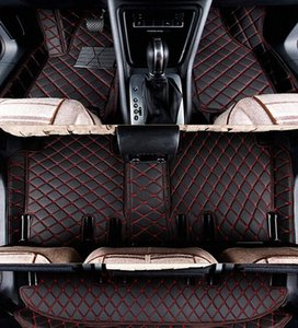 Custom special car floor mats + Trunk mat for LX 470 7 seats 2008-1998 best quality carpets for LX470 2002,Free shipping KqOL#