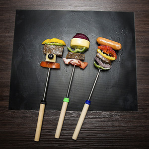 바베큐 굽고 라이너 휴대용 비 스틱 및 재사용 가능한 4 색 그릴 매트 BBQ 도구 레드 그릴 브러시 9 인치 12 인치 식품 DH0398 T03 클립