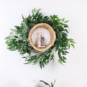 170cm mariage artificiel Willow Vine plafond Winding Road Mise en rotin Hôtel Décoration Fleurs artificielles Couronne Willow