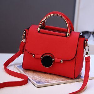 Bolso Lism Lism Damas Luxury PU Cuero Messenger Messenger Bag Bolso Bolso Black 2019 Bolsa Marca Llow