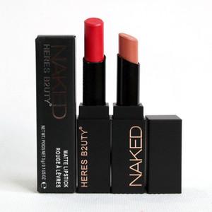 Heres B2UTY maquiagem Matte Lipstick tubo quadrado 15 cores Magnet Nutritiva Velvet Longa Duração Maquillaje Lipstick