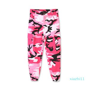 fashion-2018 Jazz Dance Costumes Girls Hip Hop Dancing Clothes Children Street Dance Clothing Kids Camo Pants Performance Wear DN1752