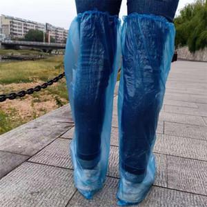 Одноразовая Бахилы Утолщение пыленепроницаемого Анти Skid Прозрачного покрытие для ног Comfy легких пластиковых Галоши Горячей Продажа Top 0 3yq E19