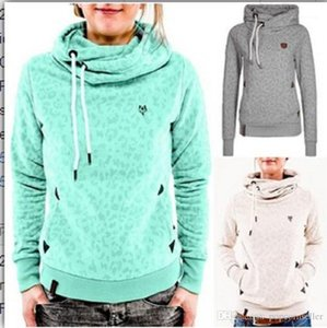 Printed Long Sleeves Pullover Hoodie Womens Casual Clothing Womens Fashion O Neck Hoodies Autumn and Winter Digital