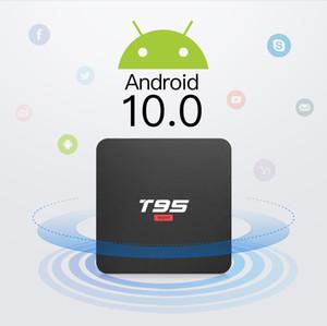T95 Super Android 10.0 TV Boîte Allwinner H3 Quad-Core 2GB / 16 Go de 2GB / 16 Go WiFi Smart Sned Box Box SW
