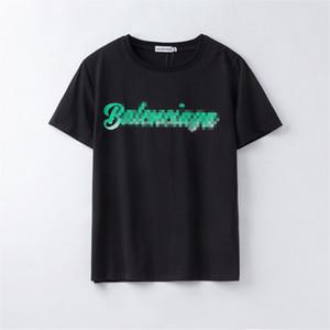 20 para hombre de las camisetas del diseñador para mujer Marca de manga corta camiseta de moda las camisas ocasionales para las camisetas Hombres Mujeres verde Carta de impresión de lujo C1 2031304V