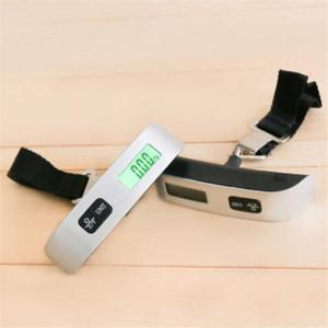 مصغرة شنقا مقياس 50 كيلوجرام / 10 جرام الرقمية الأمتعة مقياس المحمولة حقيبة سفر حقيبة مقياس الوزن الرصيد الإلكترونية