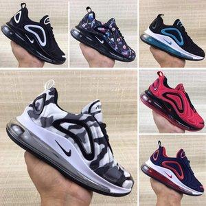 Nike Air Max 720 2019 Kanye West Infant Lehm Kleinkind Kinderlaufschuhe Static GID chaussure de sport enfant Jungen Mädchen beiläufige Trainer gießen