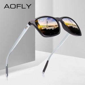 AOFLY Classic Polarized Sunglasses Fashion Style Sun Glasses for Men Women Vintage Brand Designer oculos de sol masculino UV400 CX200706