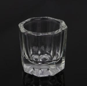 كأس الزجاج Dappen صحن / غطاء كأس السلطانية صحن الزجاج والزجاج مسمار الفن أدوات أكريليك مسمار الفن معدات ميني السلطانية الكؤوس