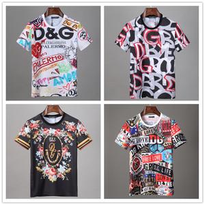 20ss magliette del progettista del monogramma lettera geometrico stampato Moda T-shirt Estate traspirante Tee casuale semplice Uomini manica corta donne di strada
