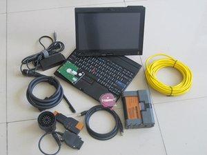 sistema de diagnóstico BMW windows7 icom a2 b c com HDD de 500GB ista modo expert computador portátil de tela de toque X200t pronto para uso